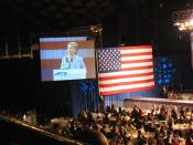 Hillary Clinton speaking at the North Carolina 2008 Jefferson-Jackson Dinner