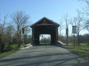 McLaughlin Covered Bridge - Pennsylvania
