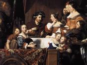 Jan de Bray - The de Bray Family (The Banquet of Antony and Cleopatra) - WGA03122