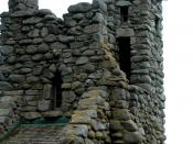 English: Robinson Jeffers Hawk Tower, Tor House, Carmel, CA 2008 Photo by Celeste Davison