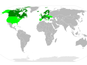 Signatories of the Protocol on Persistent Organic Pollutants