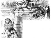 Humpty Dumpty and Alice. From Through the Looking-Glass. Illustration by John Tenniel.