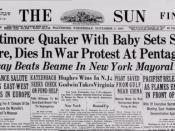 Newspaper - The Sun (Baltimore)