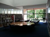 Català: Biblioteca de la Fundació Joan Miró de Barcelona