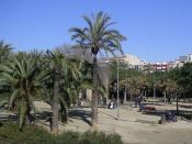 Català: Parc Joan Miró de Barcelona.