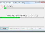 English: Win32-loader 0.6.4 under Windows Vista