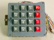English: Picture of Western Electric model 66A3A DTMF (