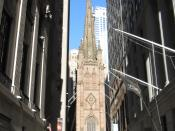 English: Trinity Church in New York City.