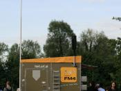 Booth of radio station FM4 at the Donauinselfest 2011 in Vienna
