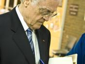 English: Lionel Jospin at Université de Montréal Français : Lionel Jospin à l'Université de Montréal