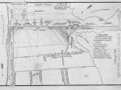 English: Map Battle of New Orleans 1815 Deutsch: Karte der Schlacht bei New Orleans 1815