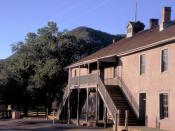 Old Lincoln County Courthouse and Jail, where Billy the Kid was tried