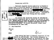 English: A COINTELPRO document outlining the FBI's plans to 'neutralize' Jean Seberg for her support for the Black Panther Party