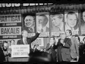 English: Jimmy Carter and Chicago Mayor Richard J. Daley at the Illinois State Democratic Convention in Chicago, Illinois