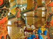 Inside the Tay Ninh Holy See