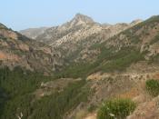 English: Mount Trevenque, Sierra Nevada, Granada, Spain Español: Pico Trevenque, Sierra Nevada, Granada, España