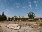 Baruch Goldstein grave | הקבר של ברוך גולדשטיין