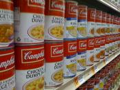 Cambell's soup aisle