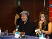 Frank Coraci and Kate Beckinsale in San Sebastian International Film Festival.