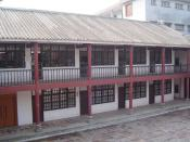 Modern picture of the Whampoa Military Academy.