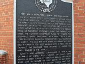 Horse and Mule Barns, Fort Worth, Texas Historical Marker