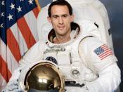 Astronaut James H. Newman