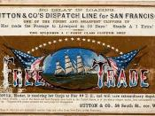 Free Trade clipper ship