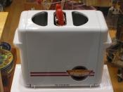 One of the more recent developments in hot dog preparation: The hot dog toaster.