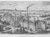 English: The County Insane Asylum in Milwaukee, Wisconsin, designed by E. Townsend Mix.