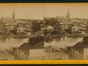 Stockton City, Baptist Church and Insane Asylum, by John P. Soule