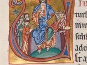Evangelistar von Speyer, um 1220 Manuscript in the Badische Landesbibliothek, Karlsruhe, Germany Detail from Cod. Bruchsal 1, Bl. 68r