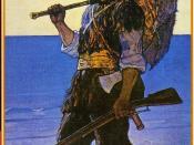 English: Robinson Crusoe illustration
