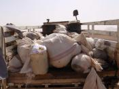 Heroin seized in Now Zad district, Helmand province July 17, 2010