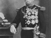 Porfirio Díaz in military uniform