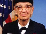 English: Commodore Grace M. Hopper, USNR Official portrait photograph.