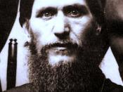 Grigory Rasputin, cropped, histogram fix, slight sepia added