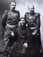 Grigory Rasputin, Major General Putyatin and Colonel Lotman