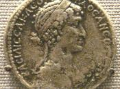 English: Tetradrachm of Seleucis and Pieria in Syria, with Mark Antony on obverse and Cleopatra VII on reverse. Compare with RPC# 4095.