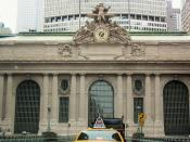 The exterior of Grand Central Station