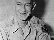 Ernie Pyle, American war reporter who inspired Oesterheld into the creation of the Ernie Pike character.