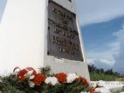 Ernie Pyle Memorial, Ie-shima Island, Okinawa, Japan