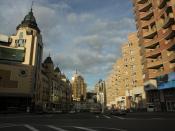 Street in kiev
