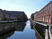 Lowell, MA canal