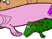 Modified version of Image:Barney_the_Bishapod.png Licenced under cc-by-sa-2.5. Any re-use to attribute the work to dave souza and show the link http://en.wikipedia.org/wiki/User:Dave_souza