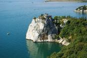 English: The peninsula near castle Duino, Trieste, Italy