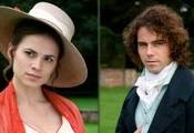 Henry Crawford (portrayed by Joseph Beattie) with his sister, Mary Crawford, in the 2007 BBC television drama Mansfield Park