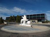 The Air Force Academy's Doolittle Hall in Colorado Springs, Colorado.