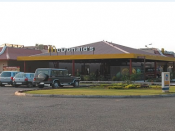 English: The first Restaurant of Mcdonalds in Punjab situated on G.T. Road near Ludhiana