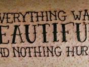 Vonnegut Tattoo