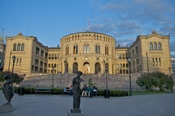 English: Picture of the Norwegian Parliament.